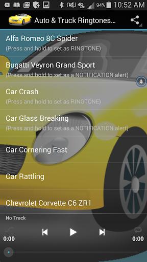 Auto Truck Ringtones Sounds