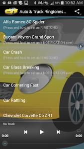 Auto & Truck Ringtones Sounds screenshot 0