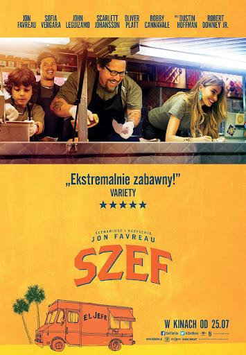 Polski plakat filmu 'Szef'