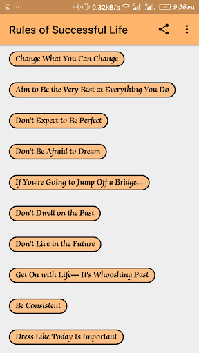 Rules of Success 1.0.3 screenshots 2