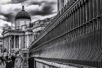 Photo: Here another photo form my trip to #London . All a good friday and start into the weekend.  Upload for #breakfastclub +Breakfast Club by +Stuart Williams  for #fencefriday by +Ajay Hatti +FenceFriday and #fencelovers like +Martin OBER , +Jorunn Gudlaugsdottir , +Jules Falk Hunter , +Kel Hayner +Ping Doherty and +Steven Sherwin  and also for #filmnoirfriday by +Paul Wright and +Thorn Button (get well soon) +Film Noir Friday  #plusphotoextract by +Jarek Klimek   #exposedphoto #potd #bwphotography