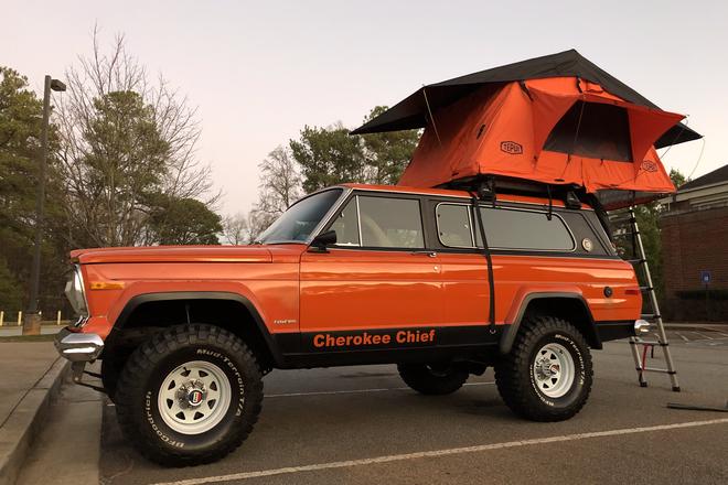 1978 Jeep Cherokee Chief Hire GA