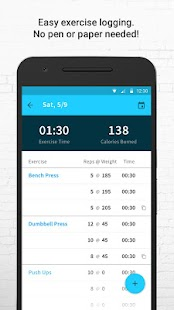 Exercise Tracker: Wear Fitness- screenshot thumbnail