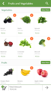 MovinCart-Grocery Shopping App screenshot 1