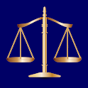 Law & Legal Terminology. Criminal law, litigation icon