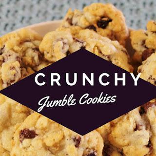 Crunchy Jumble Cookies