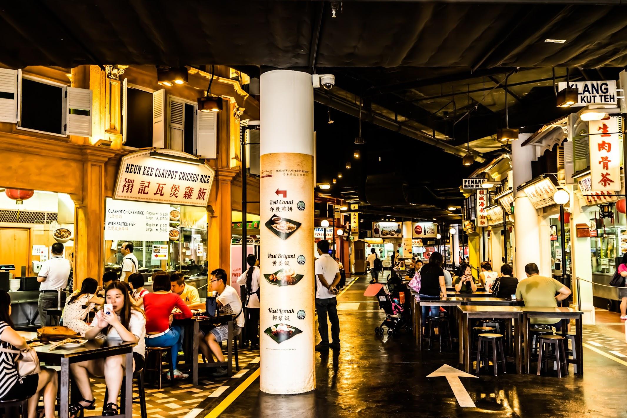 シンガポール セントーサ島 マレーシアン・フード・ストリート