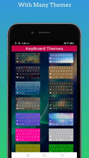 Capital Keyboard app screenshot 2