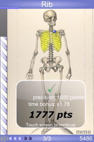 Speed Bones MD screenshot for Android