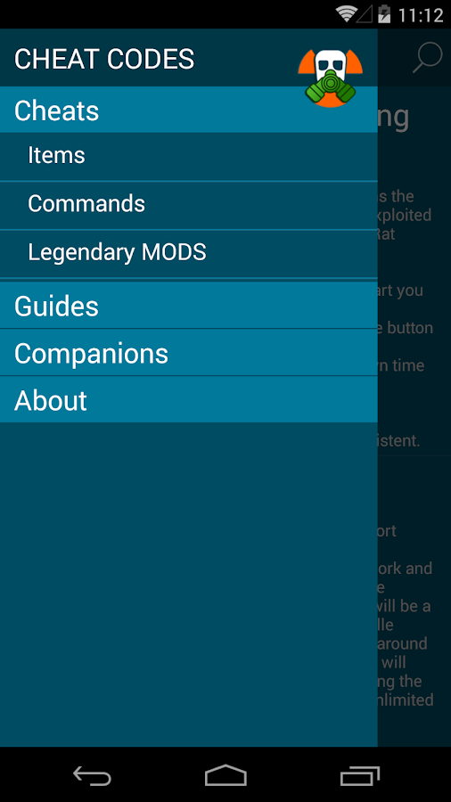 cheat codes for fallout 4 android apps on google play