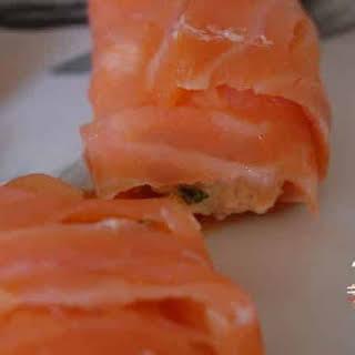 Smoked Salmon Rolls.