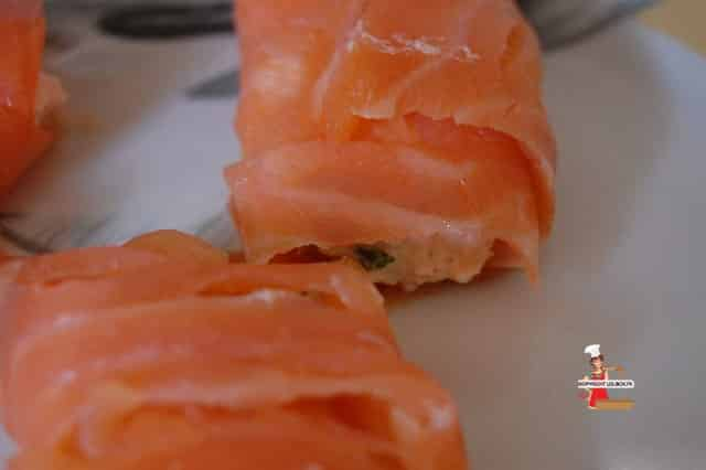 Smoked Salmon Rolls Recipe
