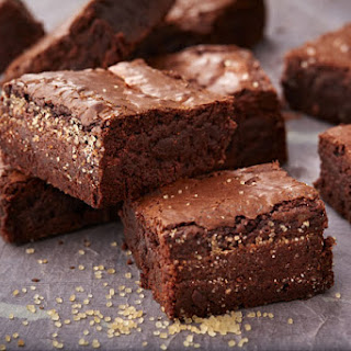 Spicy Malted Chocolate Brownies