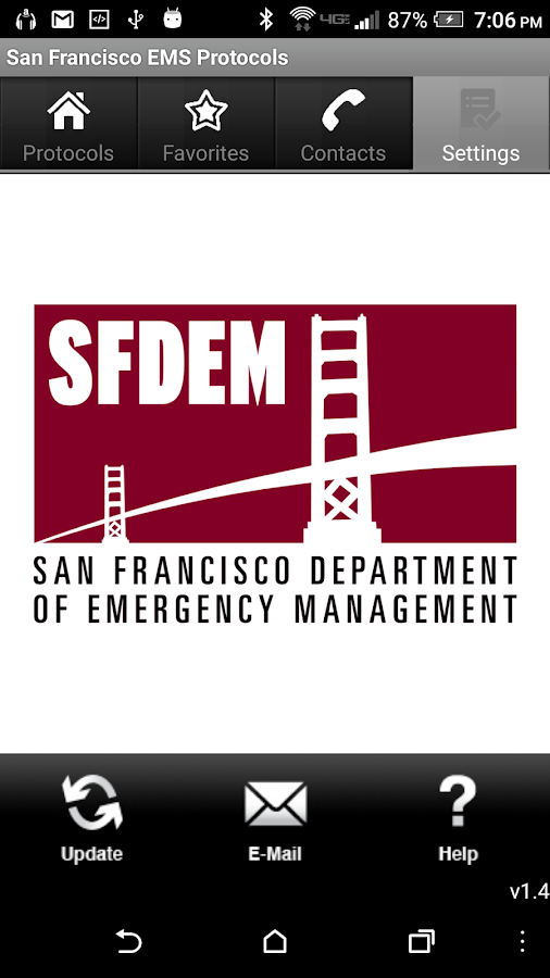 San Francisco EMS Protocols- screenshot