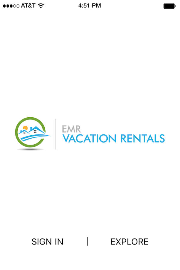 EMR Vacation Rentals- screenshot