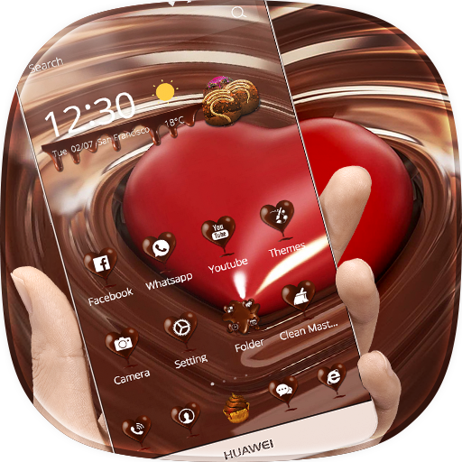 Love Chocolate Wallpaper Theme (app)