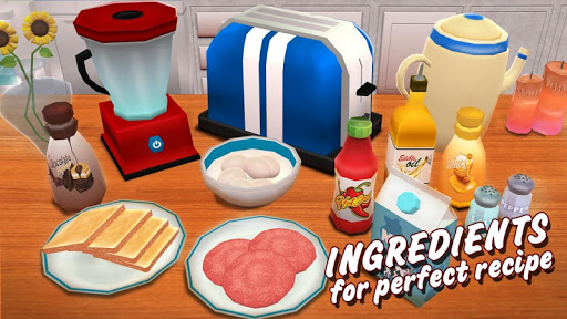 Virtual Chef Breakfast Maker 3D: Food Cooking Game 1.1 screenshots 4