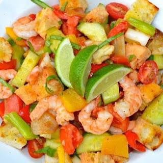 Weight Watchers Chunky Chicken Gazpacho Salad