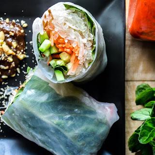Pomelo Salad Rolls
