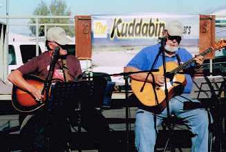 Photo: The Kuddabin Brothers performing at Stovepipe Wells.