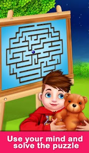 Educational Virtual Maze Puzzle for Kids Screenshot