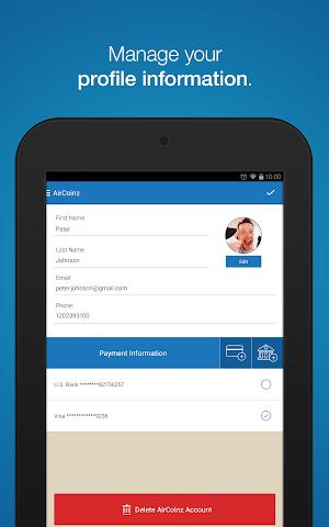 android AirCoinz Screenshot 8
