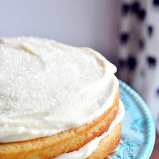 Homemade White Cake.