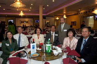 Photo: từ trái: chị Ngọc Mai - anh Hà Kim Tinh - GS Quách Thị Nho - Ô. Nguyễn Hữu Trương - Ls Hoàng Cơ Long - chị Dương T. Trâm - anh Nguyễn Toàn