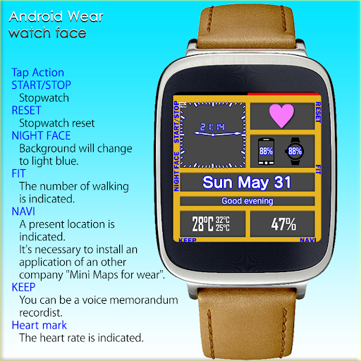 Multi-function Watch Face