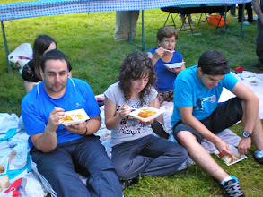Photo: DAVID, SANDRA, IRMA y DANI