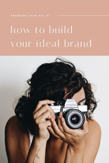 Build Your Ideal Brand - Pinterest Pin Template