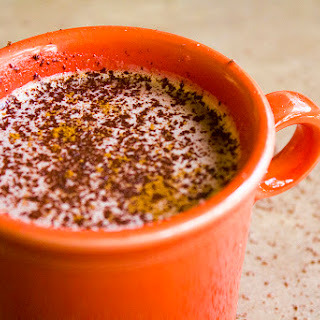 Homemade Mexican Hot Chocolate.