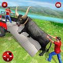 Farm Animals Transporter Truck Simulator :Wild Sim icon