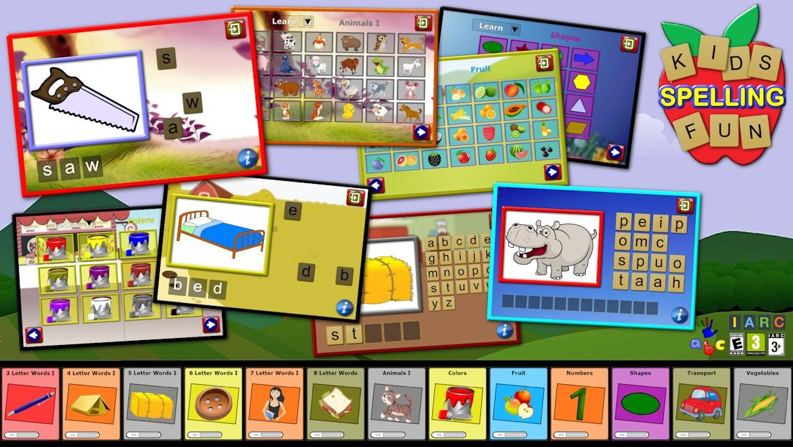 Kids spelling 500 words android apps on google play kids spelling 500 words screenshot expocarfo