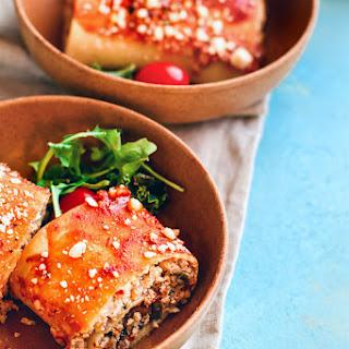 Healthy Tex Mex Breakfast Lasagna {Gluten Free}