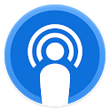 PodByte - Free Podcast Player App for Android icon