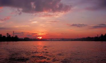Photo: Sunrise on the Mekong Delta - Vietnam - Photoshop edit.