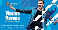 Vicente Moreno es el nuevo entrenador del Espanyol.