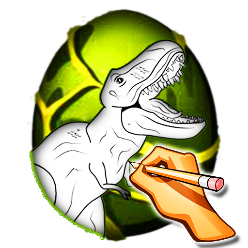 How to Draw Dinosaurs 遊戲 App LOGO-硬是要APP