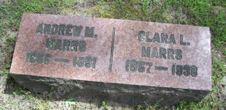 Photo: Marrs, Andrew M. and Clara L.