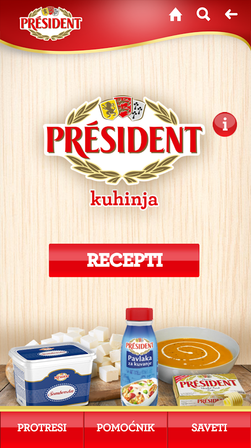 President kuhinja- screenshot