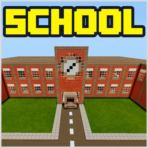 School and Neighborhood Map for MCPE