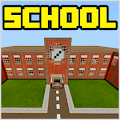 School and Neighborhood Map for MCPE by Miner Block Chain APK