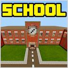 School and Neighborhood Map for MCPE icon