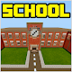 School and Neighborhood Map for MCPE by Miner Block Chain