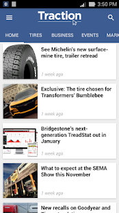 Traction News- screenshot thumbnail