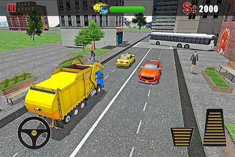 Ultimate Garbage Truck Driver screenshot