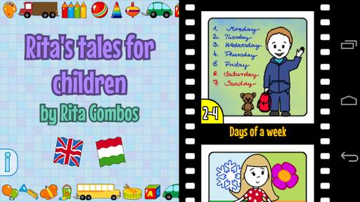Rita's tales for children screenshot 1