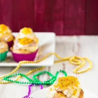 King Cake Cupcakes.