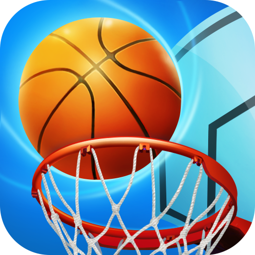 Basketball League - Online Free Throw Match Icon